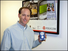 "Polycom Launches ""Polycom Communicator"", a dedicated Skype personal speakerphone for the PC"