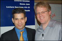 Scoble and SAP's Shai Agassi in Sin City