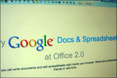 Video: Google Docs & Spreadsheets at Office 2.0