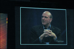 "Ballmer: ""Microsoft Just Keeps Coming"""