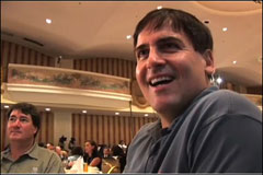 Lunching with Mark Cuban