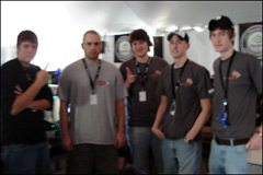 Team Hot Burns the Competition at NVIDIA's GForce LAN Party