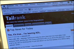 TailRank the memetracker that lets you see what blogs are talking about