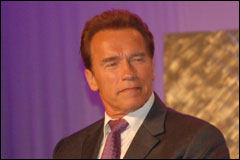 TiEcon 2006: Governor Schwarzenegger Lets His Hair Down on the Keynote Stage