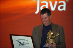 JavaOne: Sun Chairman McNealy is Honored by Colleagues