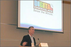 Mobile Game Conference:  Digital Chocolate Sweetens Up Mobile Gaming
