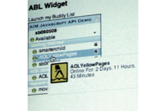Video: AOL Demo of the Instant Message API for Developers