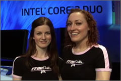 Video: Meet the Professional Girl Gamers, the Frag Dolls, at the Intel Core 2 Duo Launch Party – Sponsored