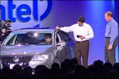 Intel CEO Paul Otellini Presents the UMPC VW at IDF